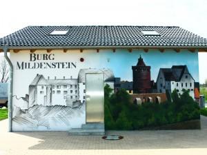 Burg Mildenstein - Fassadengestaltung Leipzig