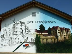 Fassadengestaltung in Leipzig - Schloss Nossen