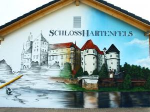 Schloss Hartenfels in Torgau - Fassadengestaltung
