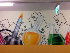 Chemielabor - Innenraumgestaltung in Leipzig