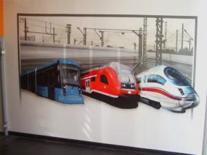Züge - Innenraumgestaltung in Leipzig