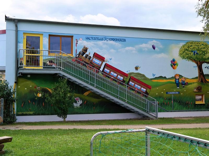Kindergarten Wilsdruff Haltestelle Kinderherzen
